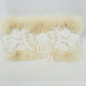 J. Mendel Paris Fur Clutch